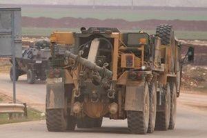 TSK İdlib'e yeni gözlem noktası konuşlandırdı.17096