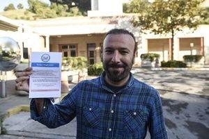 Vize için gelenlere bu kağıt verildi!.23791