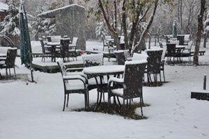 İlk kar o ilimize düştü.23504