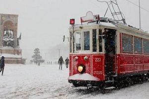 İstanbul'daki kar yağışı için AKOM saat verdi