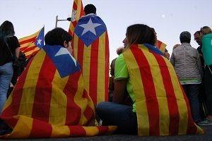 Katalonya'da bağımsızlık 'askıda'.20121