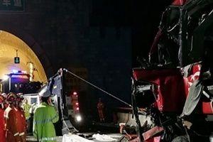 Çin'de korkunç kaza: 36 kişi can verdi!.18799