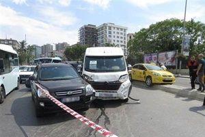 Kadıköy'de zincirleme kaza!.22180