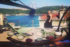 İşte oyuncu Sinem Kobal'ın muhteşem evi.25075