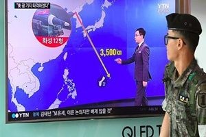 Kuzey Kore, Guam için tarih verdi.22862