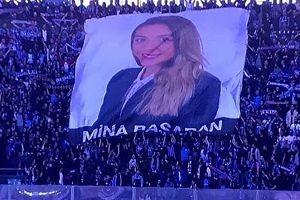 Trabzonspor, uçak kazasında ölen Mina'yı andı.29081