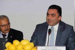Turunçgil sektörü Adana'da buluştu, sorunlarını konuştu.12626