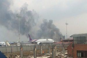 Nepal'de yolcu uçağı düştü: 50 kişi öldü.11374