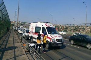 Haliç'te kaza: 1 kişi can verdi, trafik felç.19647