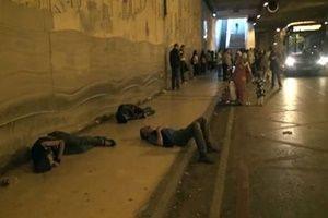 Bu skandal Taksim'de yaşandı!.14406