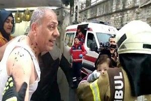 İstanbul Fatih'te panik yaratan patlama.23473