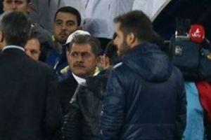 Fenerbahçe - Beşiktaş maçında saha içi gerildi