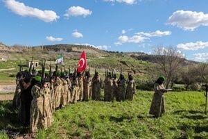 Afrin'de kadın savaşçılar hazır.24666
