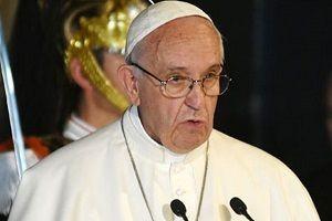 Papa: 2017 savaşlar ve yalanlarla bozuldu.14827