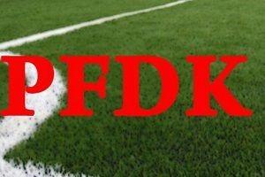 PFDK'dan Beşiktaş ve Fenerbahçe'ye ceza.16831