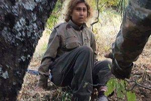 PKK'lı kadın askeri helikopterle kurtarıldı.24816