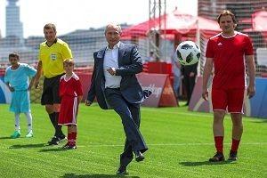 Rus lider Vladimir Putin penaltı kullandı.24347