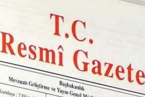 O partiler Resmi Gazete'de!.15511