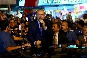 Erdoğan tezahürat yapanı uyardı