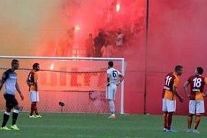 Galatasaray son ma��n� seyircisiz oynayacak