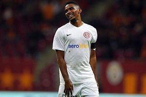 Samuel Eto'o: Antalyaspor'dan gitmek istiyorum.14410