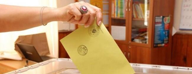 İşte oy pusulası