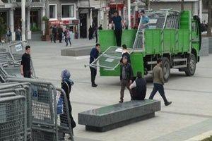 Bariyerler Taksim'e getirildi!.22968