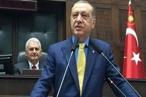 Erdoğan, Başbakan'ı ziyaret etti.17916