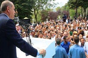 Malazgirt'te Erdoğan heyecanı!