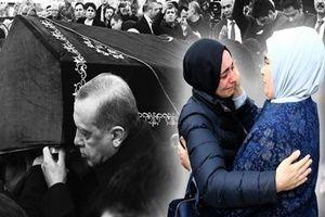 Kabe örtüsü serili tabutu Erdoğan taşıdı!.22686