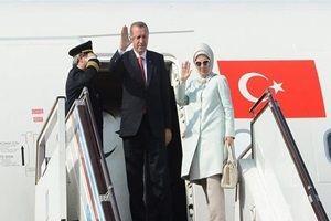 Erdoğan yurda döndü.17166