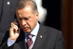 Erdoğan ve Merkel'den flaş görüşme.14396