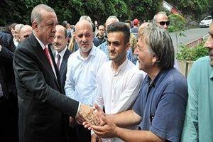 Erdoğan taziyeye gitti!.25568