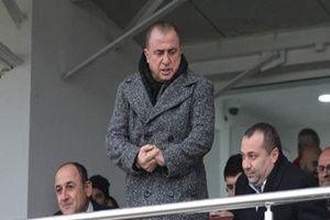 Fatih Terim, Ziraat Kupası maçını izledi.14964
