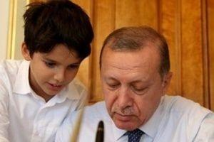 Erdoğan'ın torunu TRT Çocuk'ta.15084