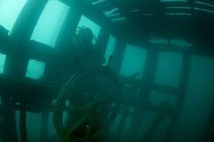 Van Gölü'nde batık Rus gemisi bulundu!.9227