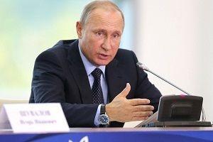 Putin gövde gösterisi yaptı