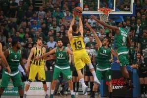 Fenerbahçe, Panathinaikos'u 80-75 mağlup etti.28632