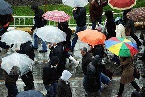 İstanbul için beklenen yağmur geldi.30856