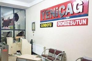 Yeniçağ Gazetesi'ne saldırı.19744