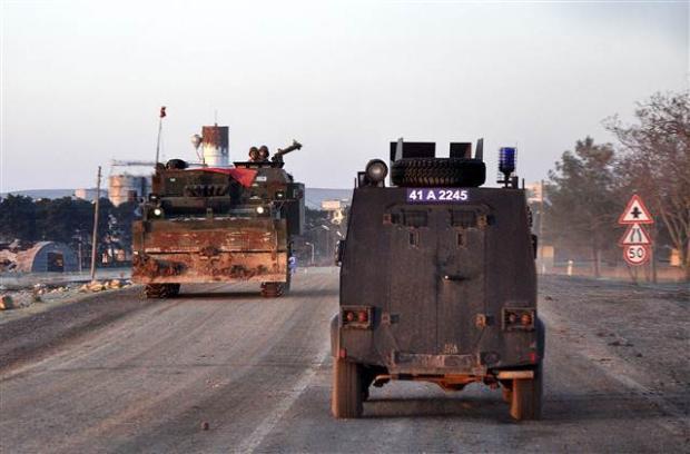 Suriye'ye operasyondan kareler