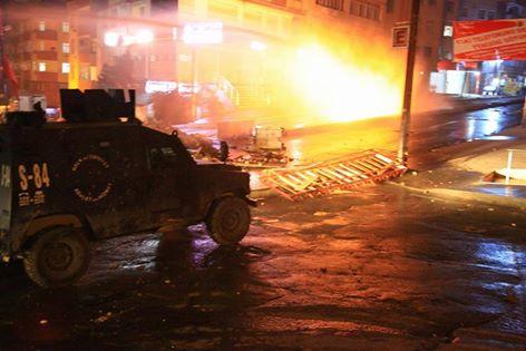 Çağlayan'daki operasyon sonra sokaklar karıştı