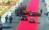 Sisi'nin akıllara zarar protokol halısı