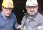 Yılmaz Morgül maden ocağına indi