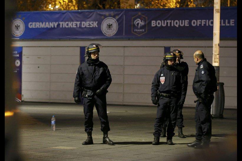 Fransa saldırısından kareler