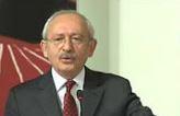 Kemal Kılıçdaroğlu konuştu