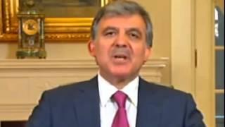 Abdullah G�l'den veda mesaj�