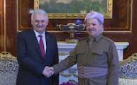 Başbakan Binali Yıldırım, Barzani ile görüştü