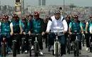 Tayyip Erdo�an bisiklete bindi