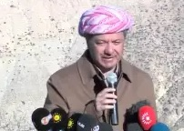 Barzani da�da konu�tu - Video